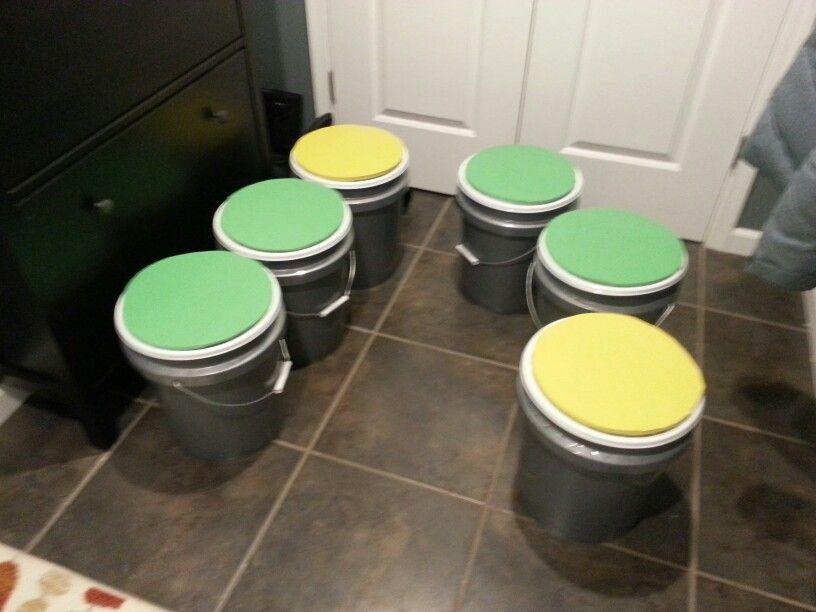 Five Gallon Bucket Seats Easiest Method Buy Bucket Buy Lid Buy