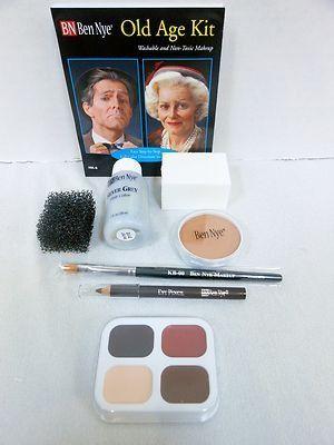 Ben Nye Complete Old Age Character Makeup Kit HK-6 Halloween ...