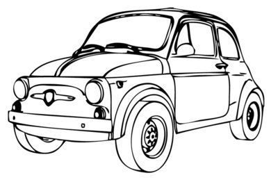 fiat 500 carte anniversaire dominique pinterest voiture dessin et carte anniversaire. Black Bedroom Furniture Sets. Home Design Ideas
