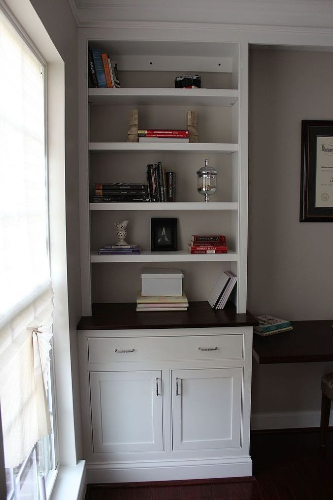 Hometalk  Home Office Remodel With Home Made Built-Ins DIY