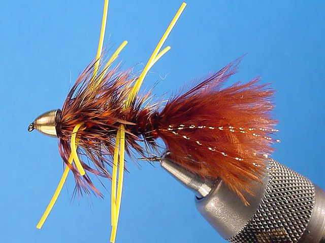 If you want to catch huge browns in Utah, toss one of these near an under cut bank and HANG ON!  Autumn Splendor