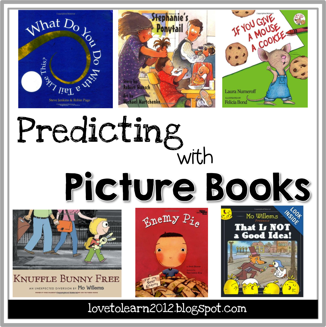 Childrens book to teach making predictions
