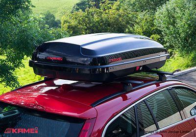 Kamei 510 Glossy Black Roof Box No Km440 81440 Roof Box Custom Cars Roof