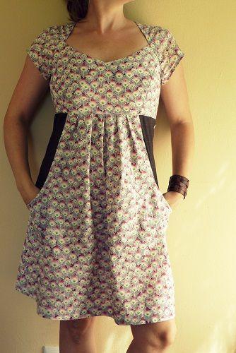 frau burow näht: neues wohlfühlkleid | Nähen - Kleidung | Pinterest ...