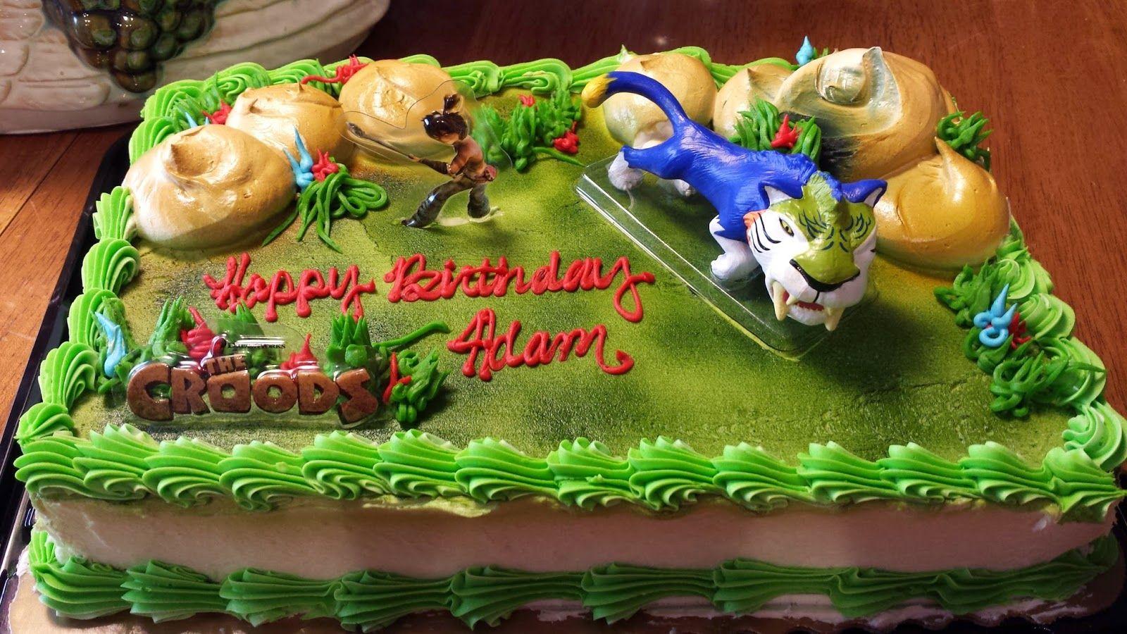 Croods Birthday Cake Ideas Buscar Con Google Canvasea