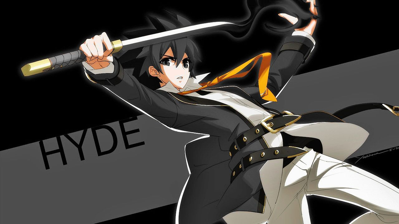 Under night in birth exe: late) Hyde Kido recolor done by me