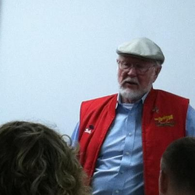 Photo: The famous red jacket of Bob Moore