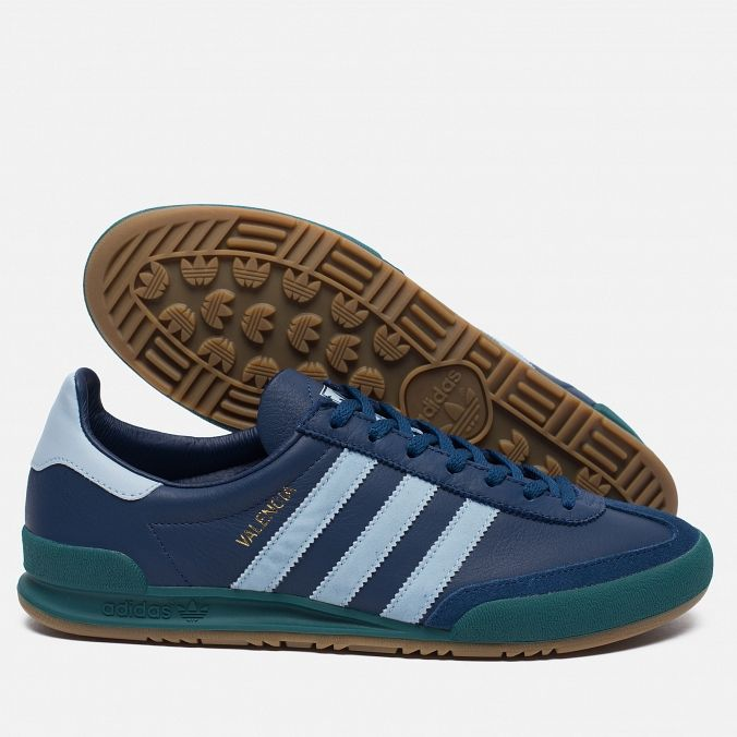 9da004d11cb2 Кроссовки adidas Originals Jeans City Series Valencia Navy Blue Green.  Article  BB5274. Year  2016.