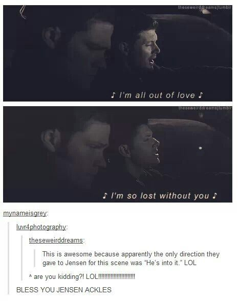 Oh Jensen, you are brilliant.