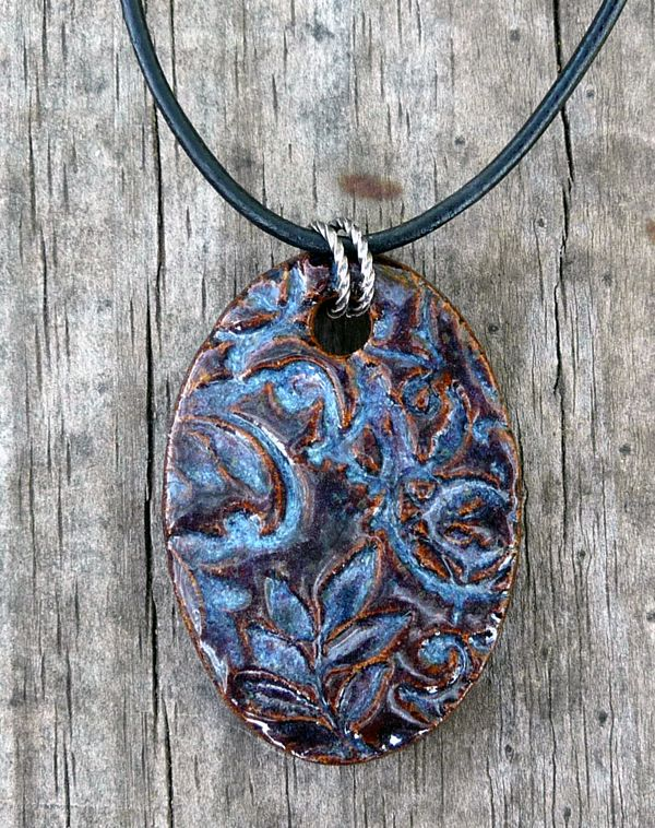 How To Make Kiln Fired Clay Pendants Amp Buttons Diy Craft