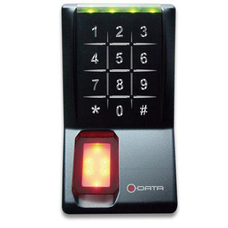 E Data 401adu Sl Fingerprint Biometric Security Keyless Door Entry