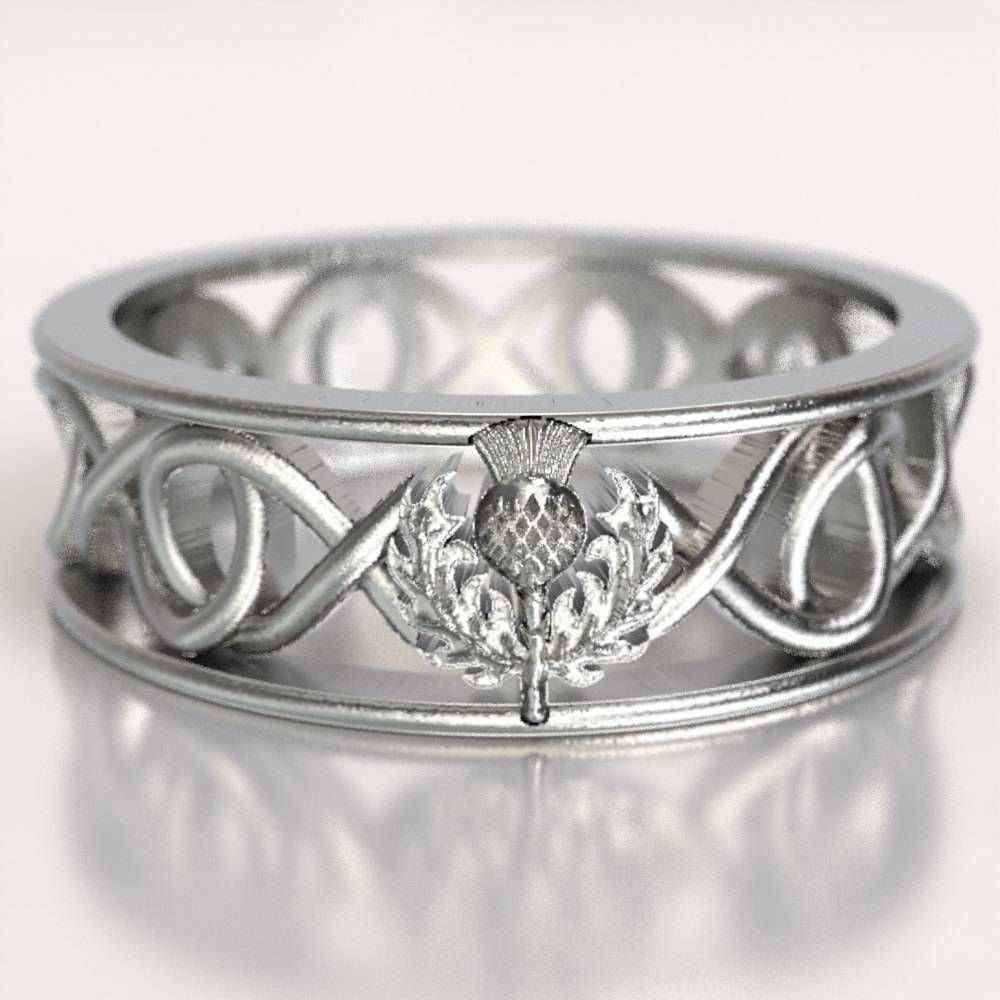 This is an image of 50 Besten Ideen Scottish Wedding Bands #Verlobungsringe