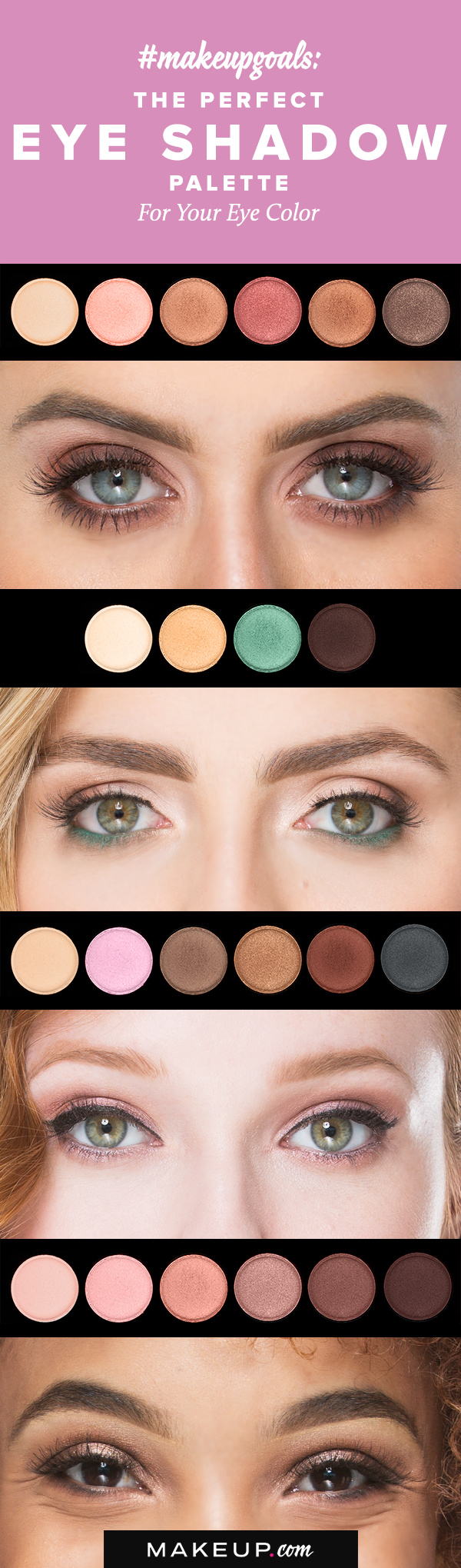 the best eyeshadow palette for your eye color | eye makeup