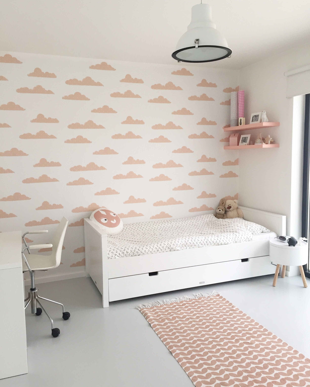 Verwonderlijk Wallpaper Clouds Pink ☝ & cushion, rug by www.roomblush.com VS-58