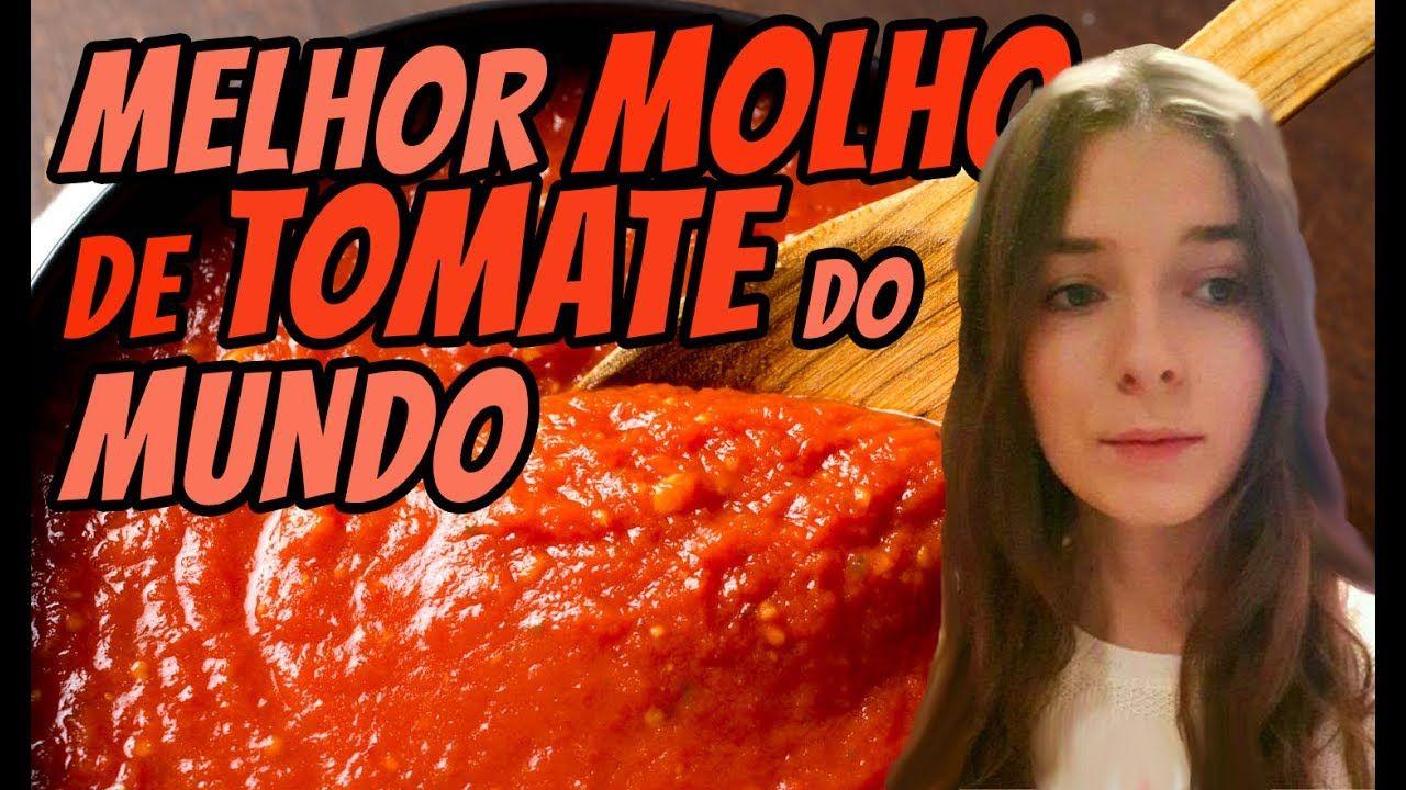 O MELHOR MOLHO DE TOMATE DO MUNDO com a Rainha do Molho
