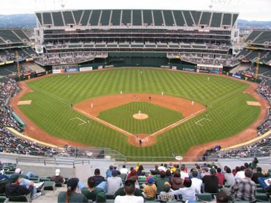Oakland Athletics Ballpark Oakland Coliseum Giants Stadium Oakland Athletics