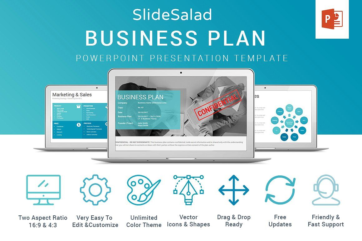 Business plan powerpoint template by slidesalad on creativemarket 30 off business plan powerpoint by slidesalad on creativemarket slidesalad top business cheaphphosting Choice Image