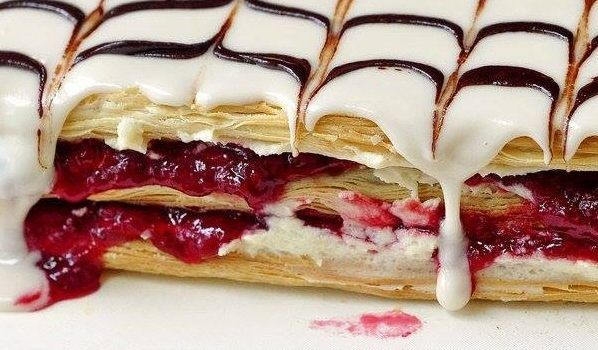 Photo of Mille feuille aux framboises