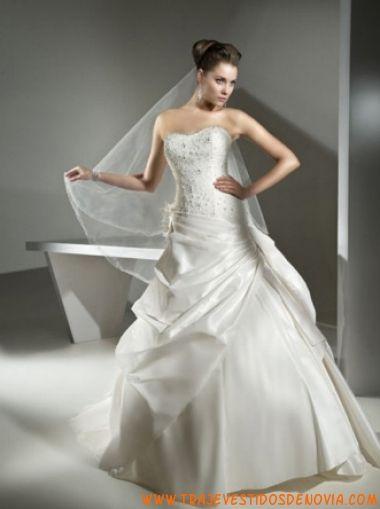 7471 vestido de novia cosmobella | vestidos de novia alicante