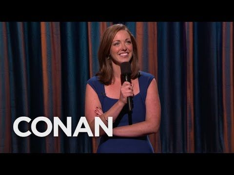 Megan Gailey Stand-Up 10/22/15 - CONAN on TBS - YouTube