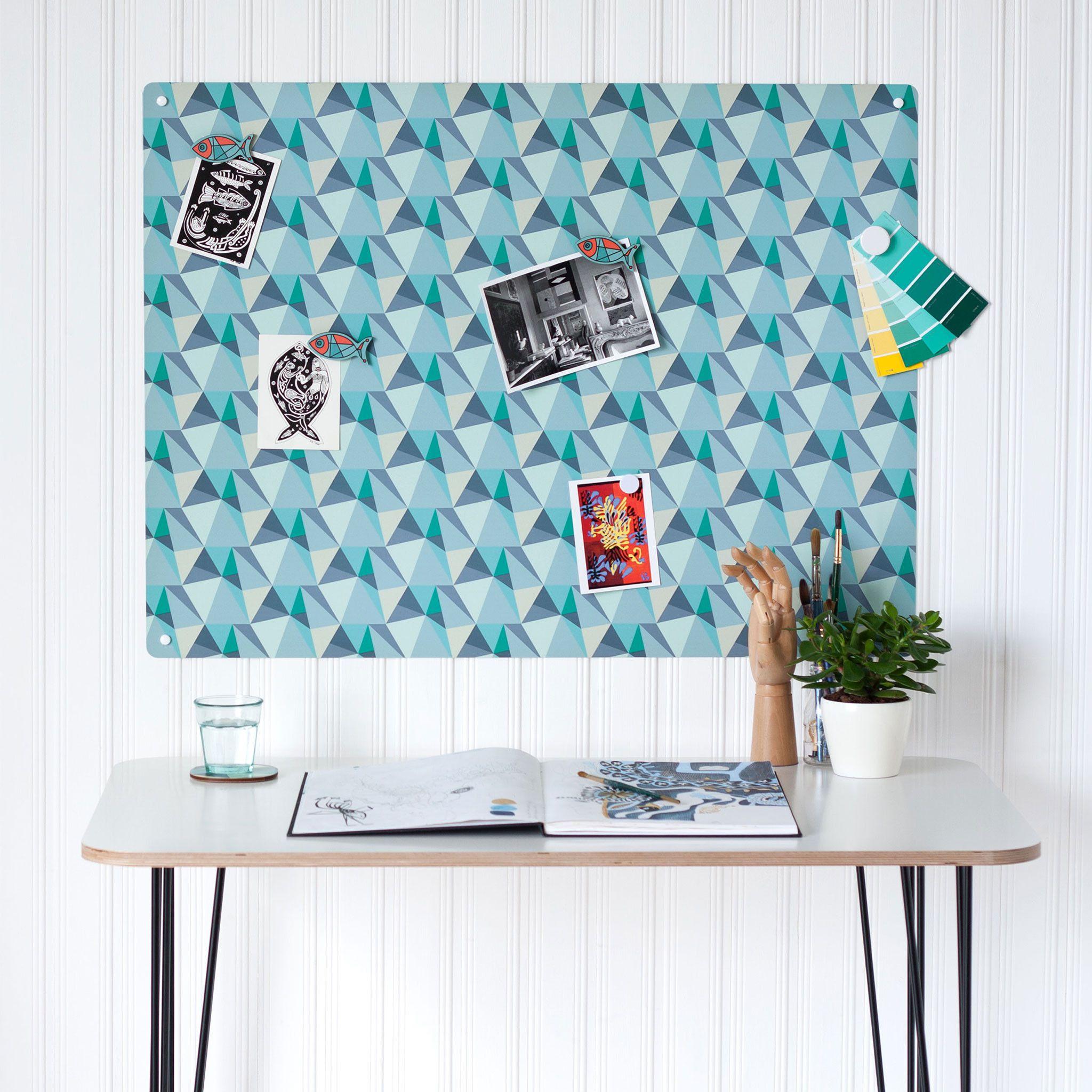 Shards Design - Large Magnetic Notice Board | The Modern Marketplace ...