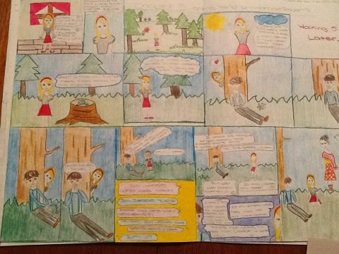 Comic Strip Summaries for Tuck Everlasting #engchat #bced ...