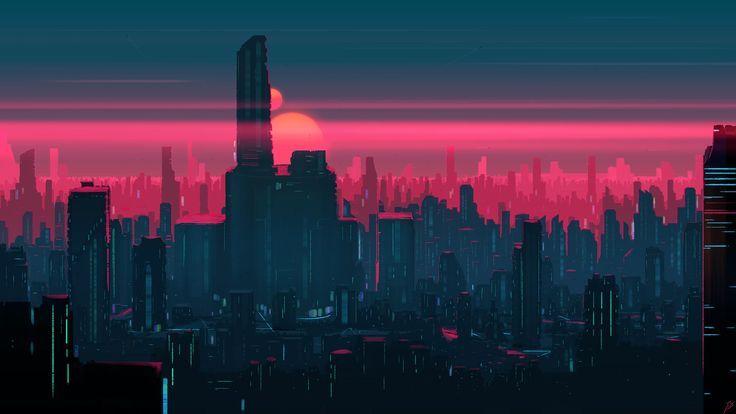 Futuristic City Cities Https Livewallpaperswide Com Cities Futuristic City 124632 Desktop Desktop Wallpaper Art City Wallpaper Aesthetic Desktop Wallpaper