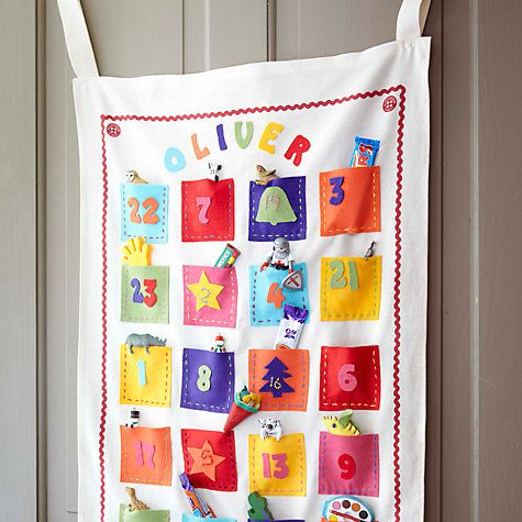 Buy Buttonbag Make Your Own Advent Calendar Online at johnlewis