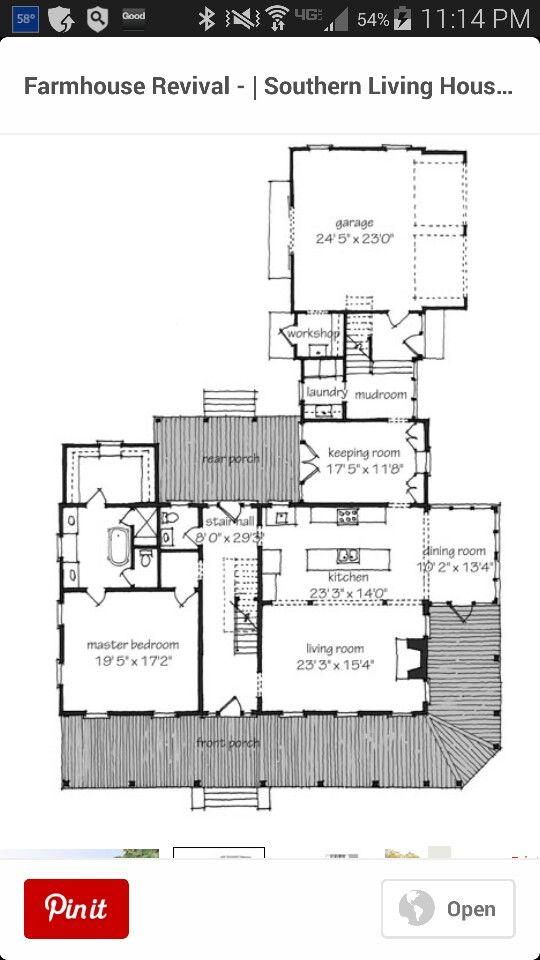 New house Plan I think House Floor Plans Pinterest House