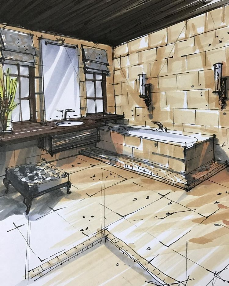 Pin Von Madison Fuerst Auf Interior Designu0026Architecture | Pinterest |  Perspektive Zeichnen, Hochhaus Und Perspektive