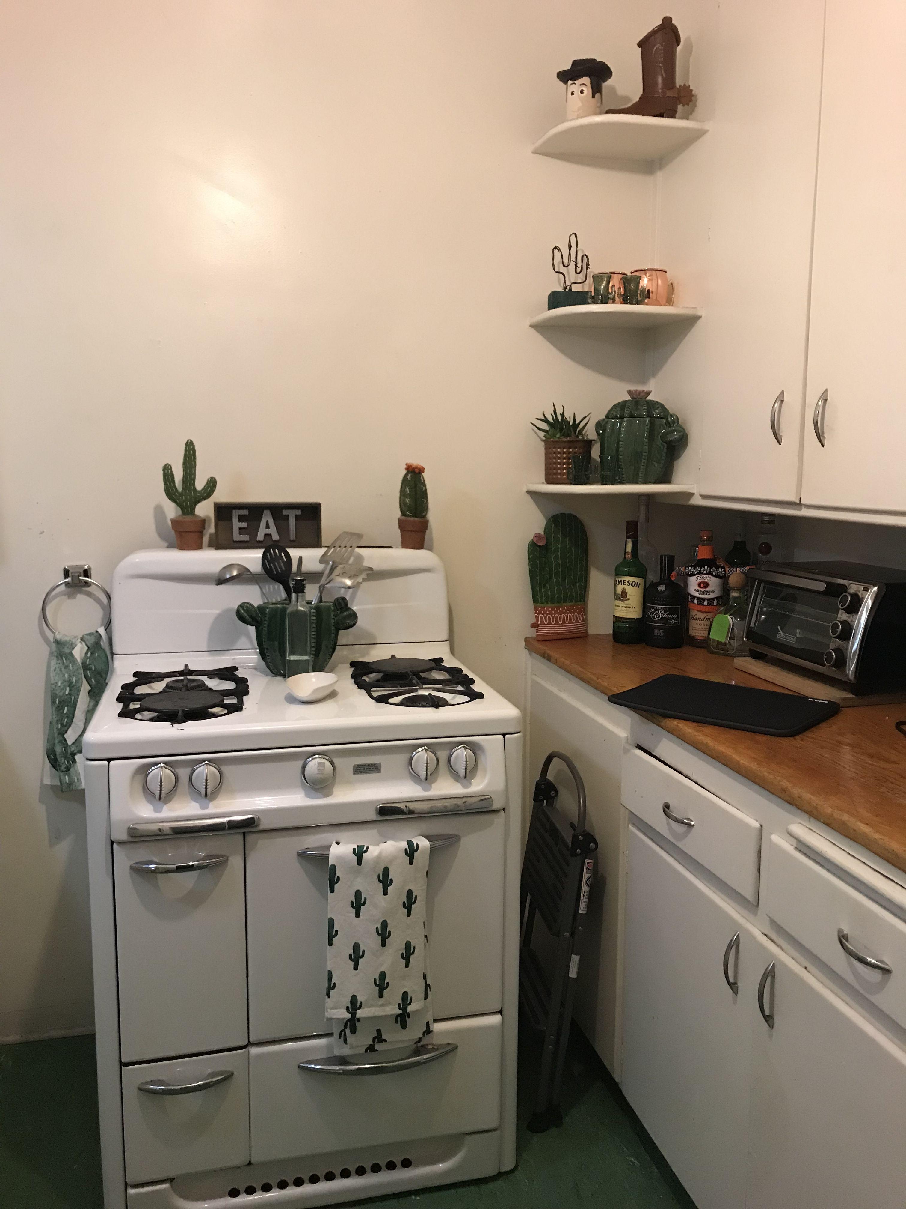 Kitchen Cactus decor  Kitchen decor, Kitchen, Kitchen inspirations