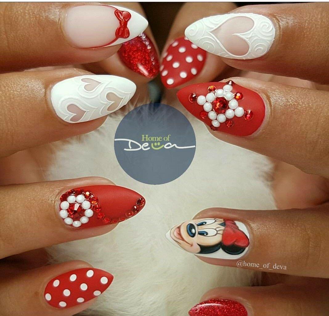 Pin by Shai on Claws✨✨ | Pinterest | Disney nails, Disney nails ...