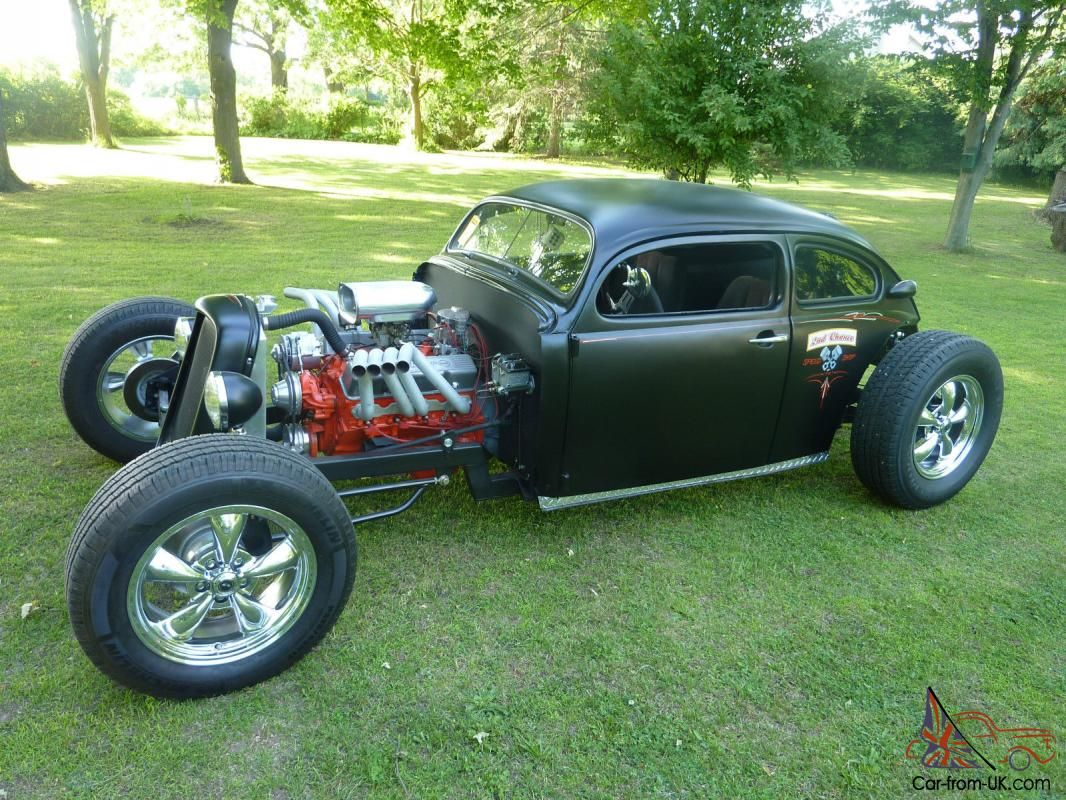 Ratrod Chopped Top Volkswagen Bug 70 Vw Hotrod Custom