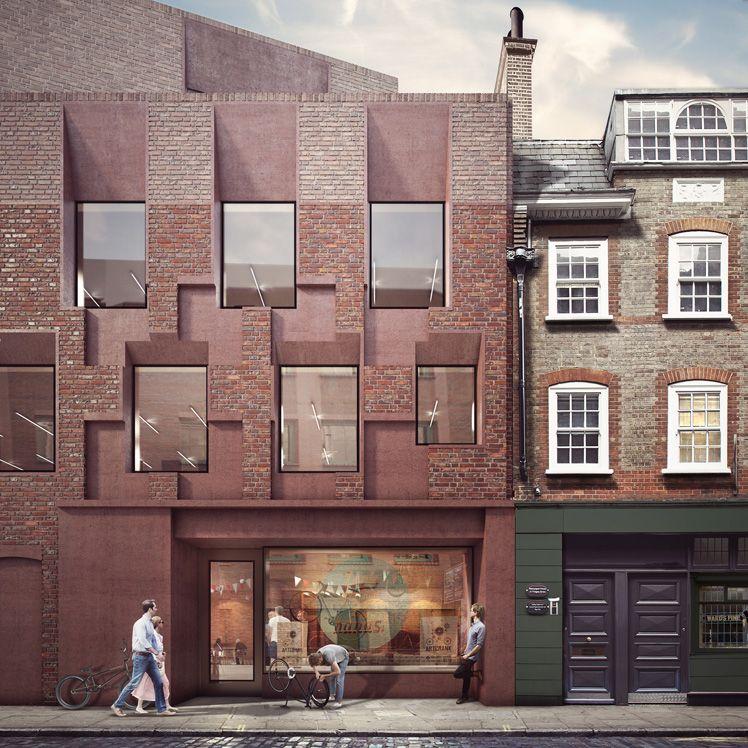 Forbes Massie 3d Visualisation Studio London Work Duggan Morris Blossom Street Facade Design Brick Architecture Architecture Visualization