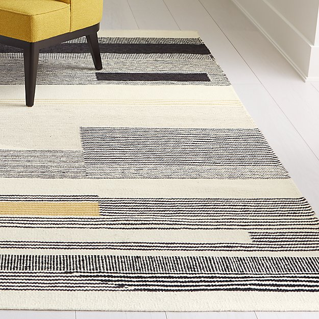 Zofia Graphic Rug 8 X10 Reviews Crate And Barrel Graphic Rug Rugs Crate And Barrel