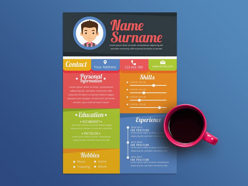 Free Colorful Resume Templates Resume Template Free Resume Template Free Resume Template Download