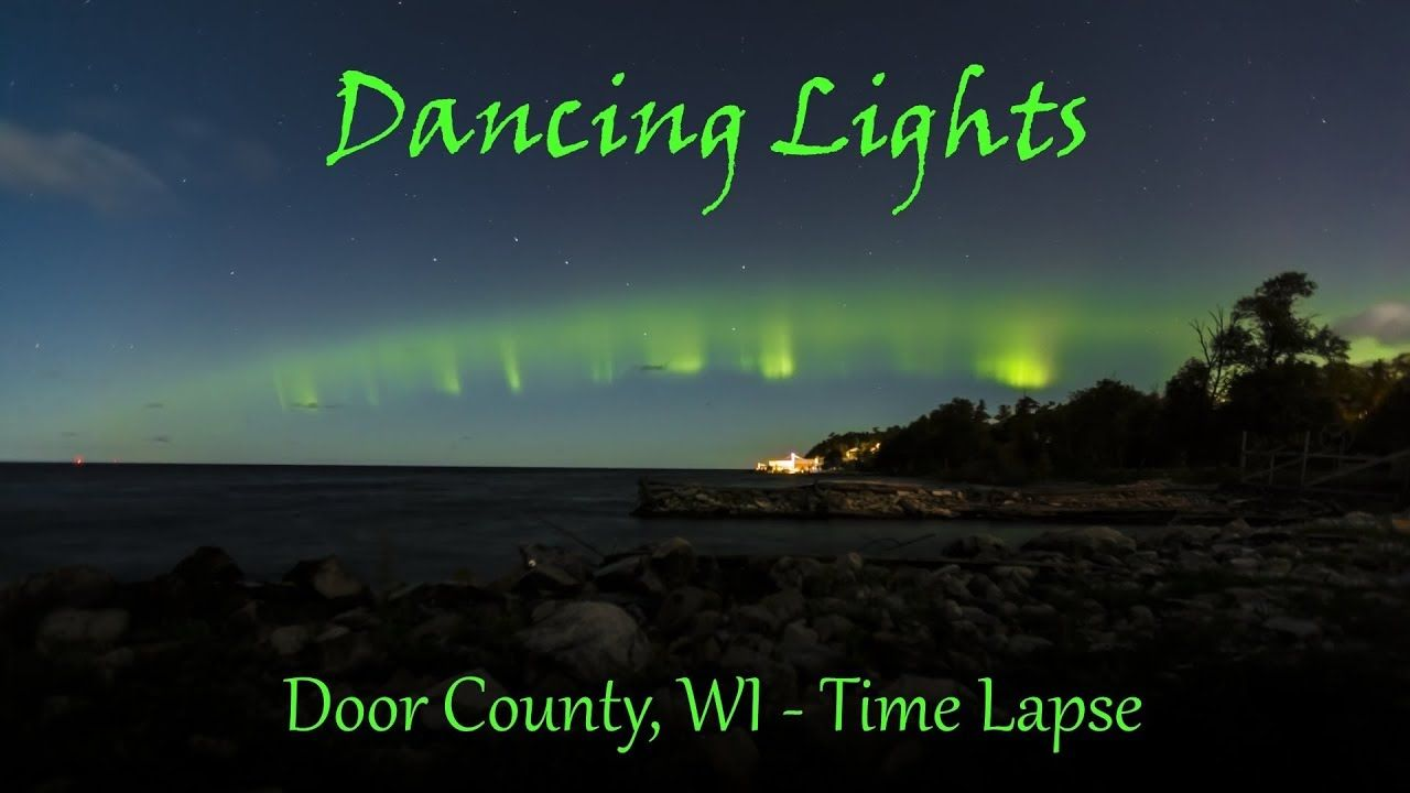 Door County Wisconsin. Some times you are lucky to witness Northern Lights. #remoteplaces & Door County Wisconsin. Some times you are lucky to witness Northern ...