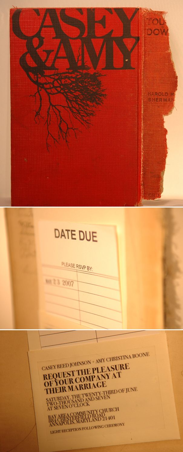 Creative? This couple collected old books and screen printed their ...