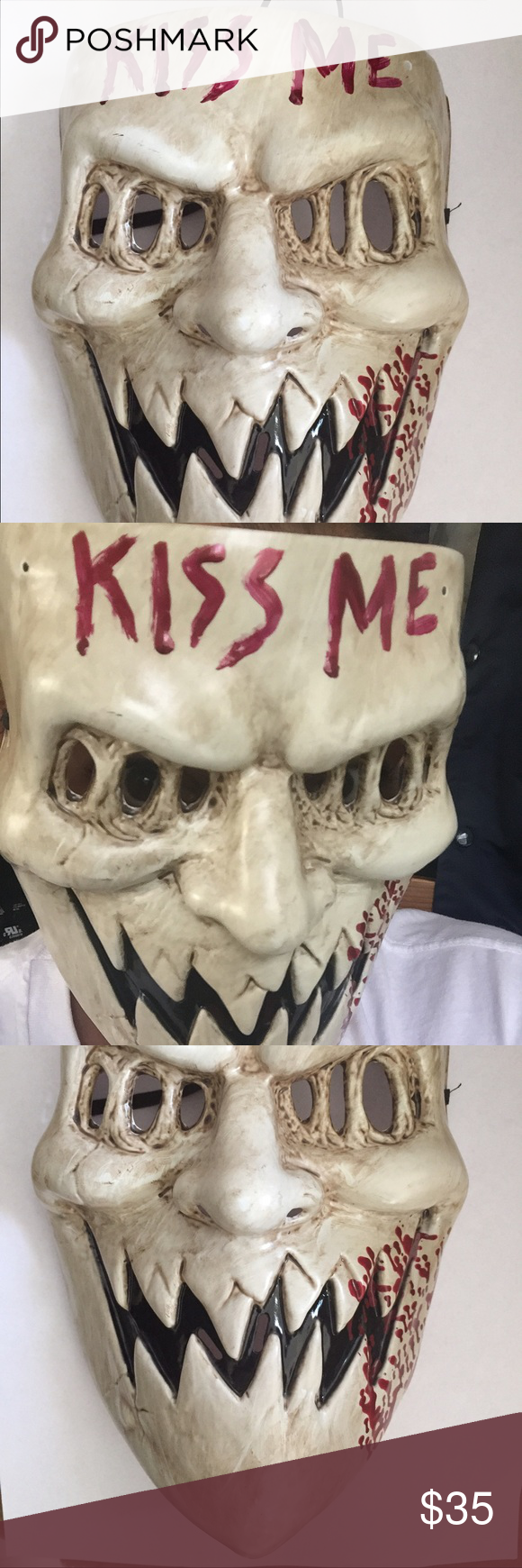 The purge 3 kiss me mask Halloween | Discover more ideas about ...