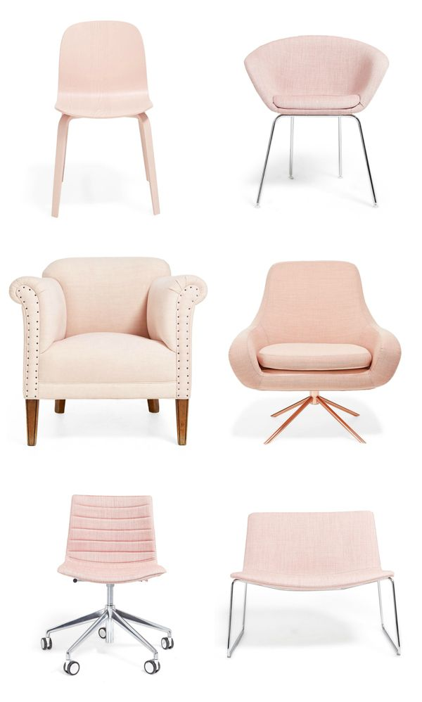 Desk Chair Pink Armed Accent Chairs Maria Killam S Trend Forecast For 2016 Watching Pastels Including Pinks Are Trending Mariakillam Furniture Design