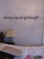 Always kiss me goodnight (harmaa)