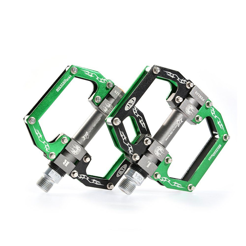 Sports Outdoors Flat Platform Mountain Bike Pedals Sealed Bearing Bicycle Pedal
