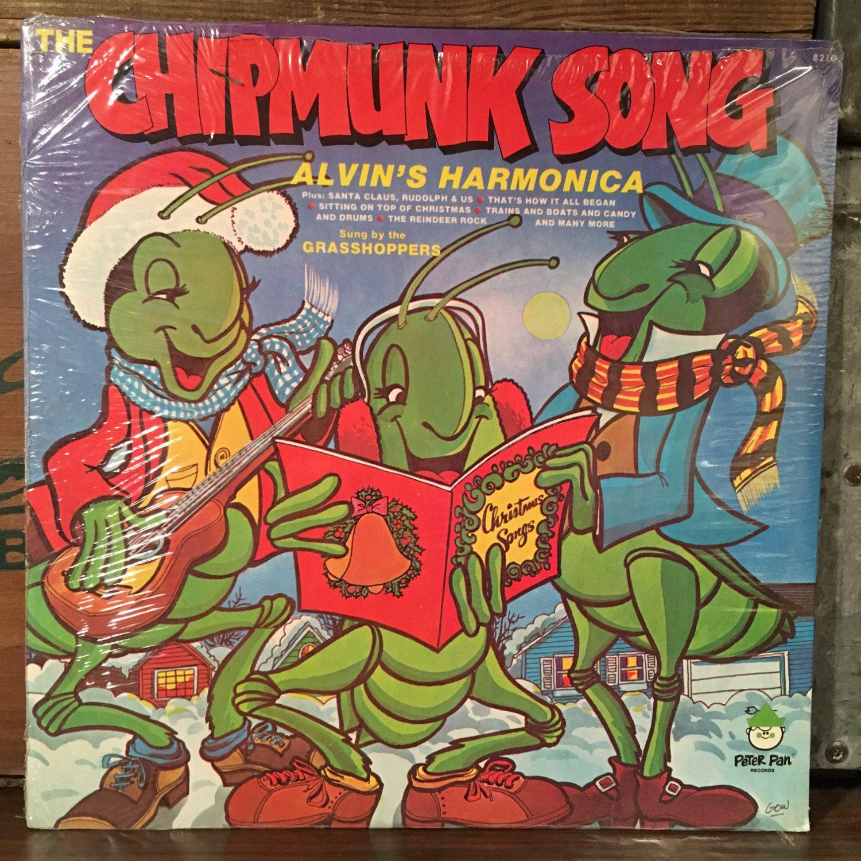 The Grasshoppers • Chipmunk Song Christmas Sealed Vinyl LP 1978 ...