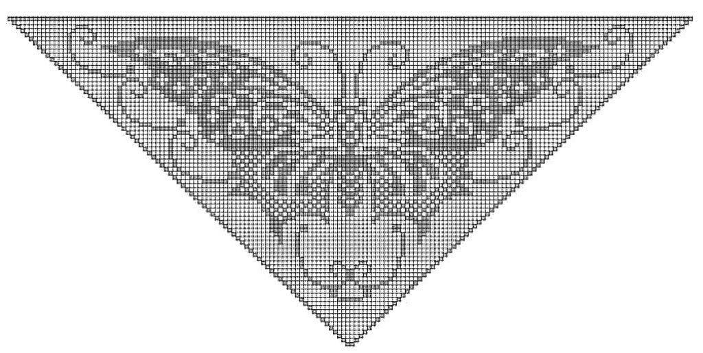 Filet Haken Dit Prachtige Patroon Plus Overzichtelijke