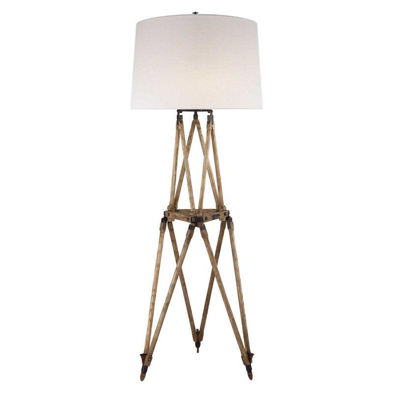 Quincy Floor Lamp in Vintage Oak - Products - Ralph Lauren Home ...