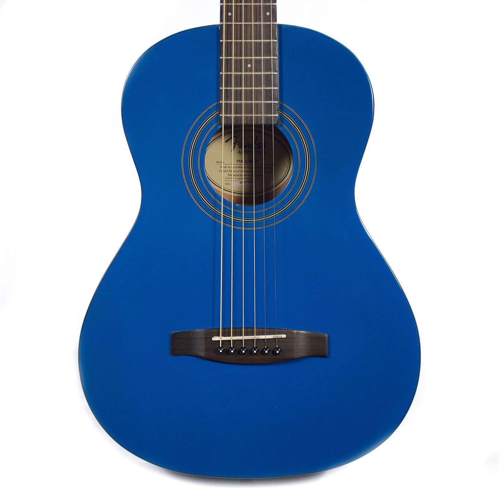Fender MA 1 3 4 Acoustic Guitar Blue