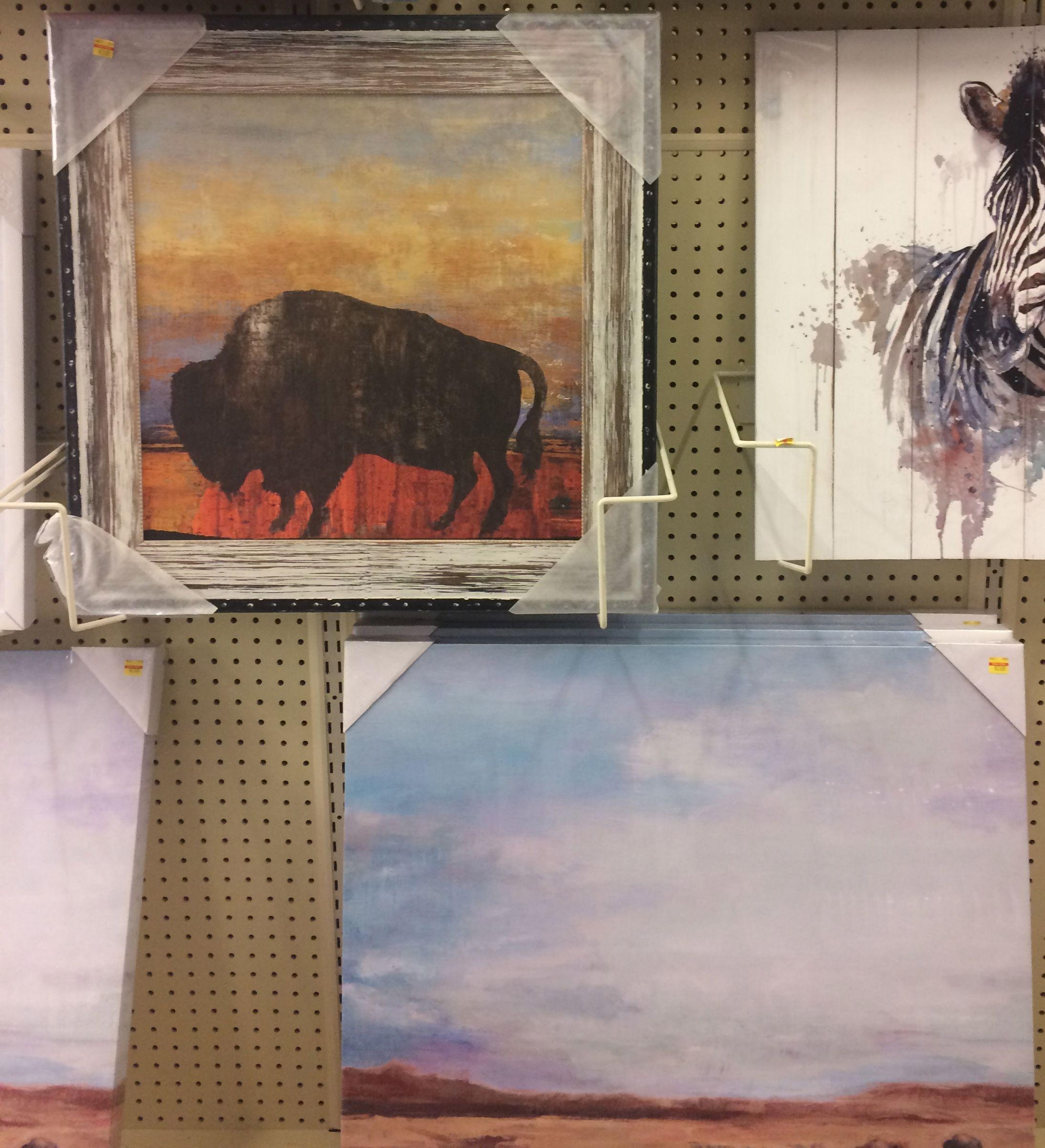 Lower pic Hobby Lobby Buffalo canvas print