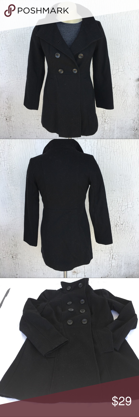 OLD NAVY Pea Coat - XS PETITE OLD NAVY Pea Coat Extra Small Petite ...