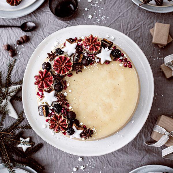 Photo of Marzipan-Torte im Weihnachtslook!