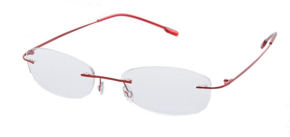 654a09bd519 DEDING women rimless eyeglasses frames Stainless Steel non prescription  eyeglasses frames for women Optical eye Glasses
